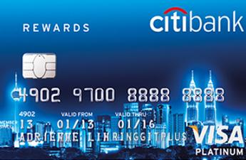 Mở thẻ tín dụng Citi Bank dễ dàng với lãi suất tiêu dùng 0%