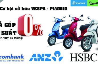 Mua Xe Máy Trả Góp Lãi Suất 0% bằng thẻ tín dụng
