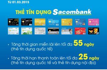 Thủ tục làm thẻ tín dụng Sacombank – Bảng phí các loại thẻ, ưu đãi và yêu cầu thu nhập