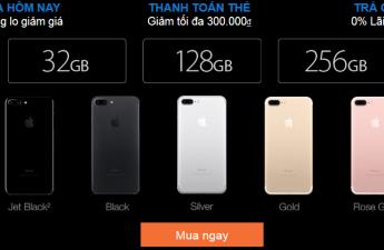 Nên mua iPhone 7 chính hãng ở đâu giá rẻ và nhiều ưu đãi?