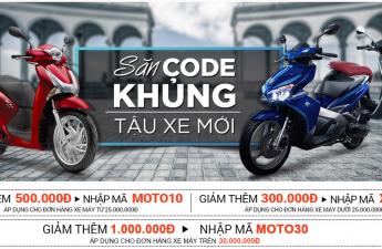 Mua xe máy trả góp lãi suất 0% kỳ hạn 12 tháng tại Adayroi.com