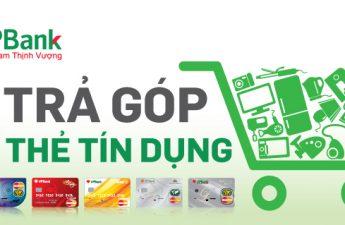 Mua hàng trả góp qua thẻ tín dụng VPBank với lãi suất 0%