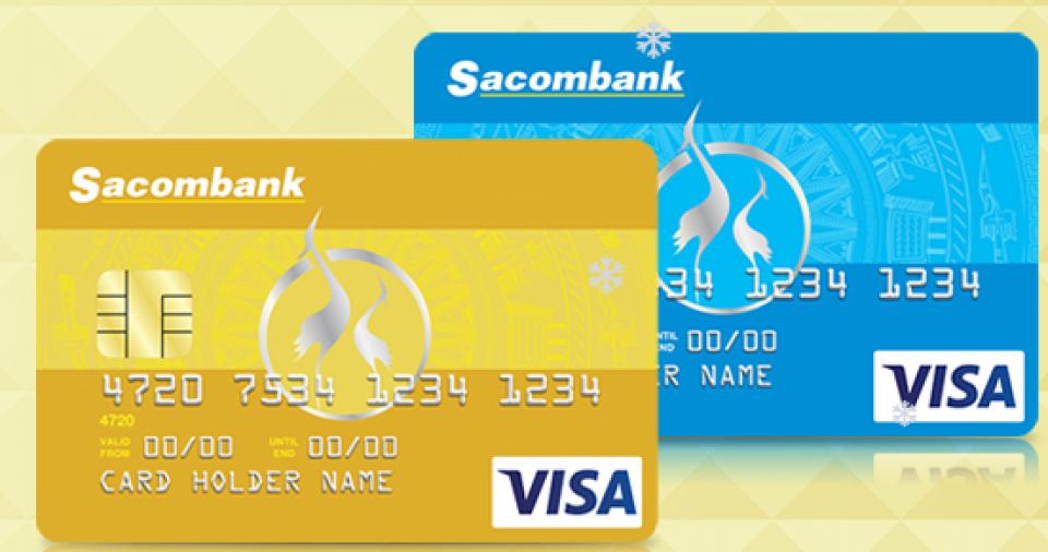 Dịch vụ nhận làm thẻ tín dụng Sacombank - nhận hồ sơ tận nơi