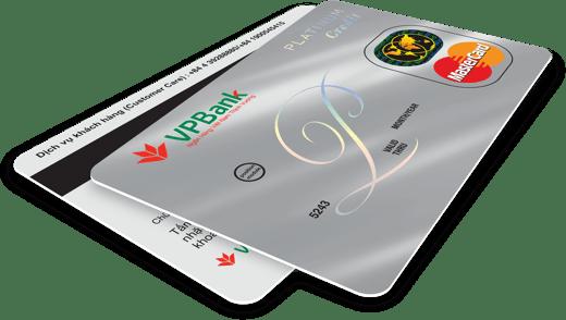 Thẻ tín dụng PLATINUM - Tặng điểm thưởng cho mọi giao dịch
