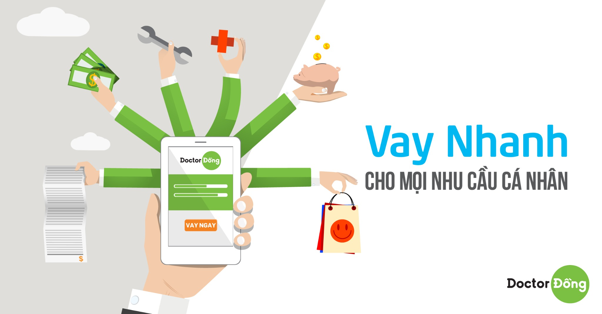 Cho vay tiền online nhanh nhất và dễ nhất với DoctorDong (Vạn An Phát)