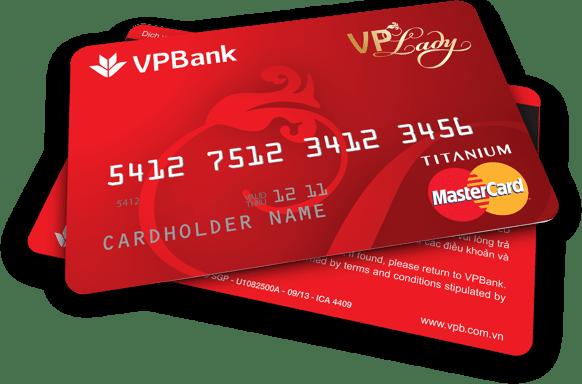 Thẻ tín dụng VPLADY - Hoàn tiền cho mọi giao dịch